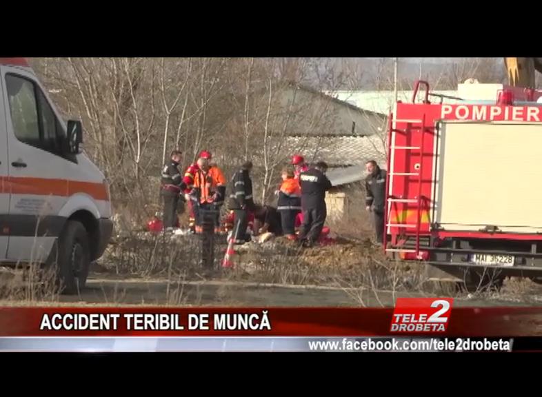 ACCIDENT TERIBIL DEMUNCĂ