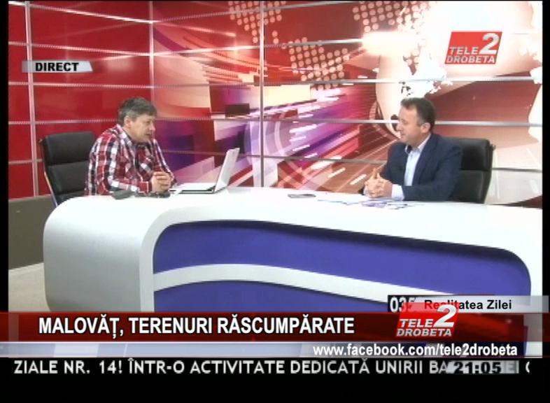 MALOVĂȚ, TERENURI RĂSCUMPĂRATE