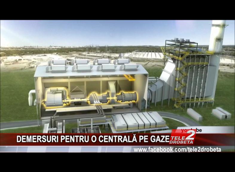DEMERSURI PENTRU O CENTRALĂ PE GAZE