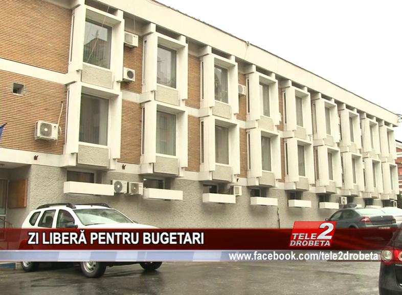 ZI LIBERĂ PENTRU BUGETARI