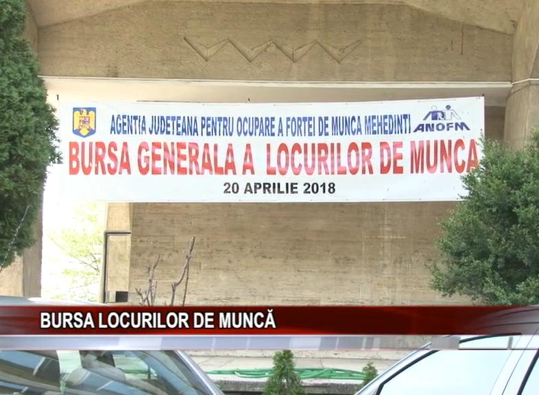 BURSA LOCURILOR DE MUNCĂ