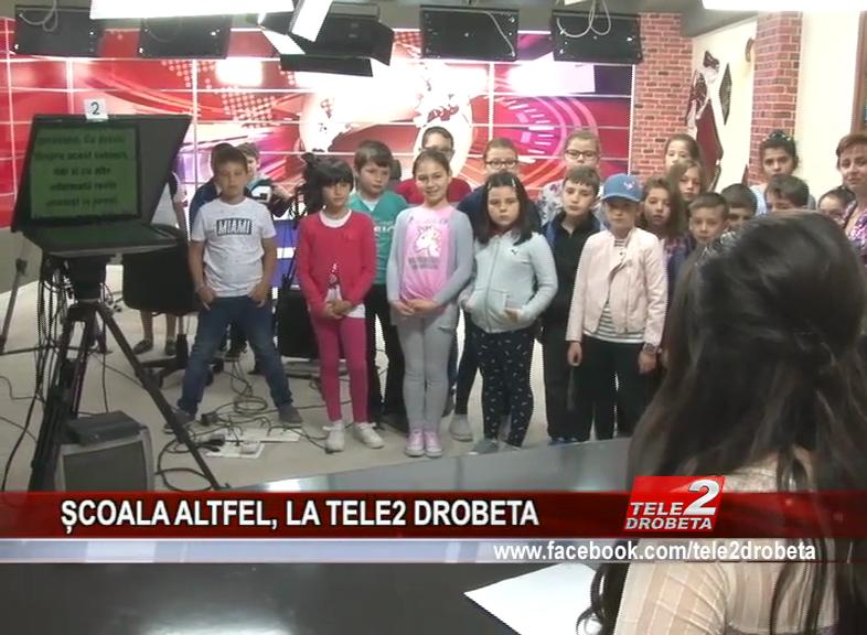 ȘCOALA ALTFEL, LA TELE2 DROBETA