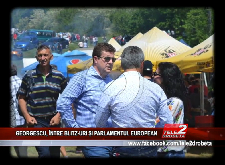 GEORGESCU, ÎNTRE BLITZ-URI ȘI PARLAMENTUL EUROPEAN