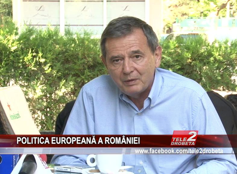 POLITICA EUROPEANĂ A ROMÂNIEI