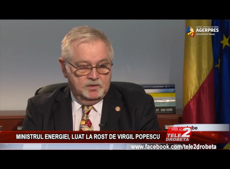 MINISTRUL ENERGIEI, LUAT LA ROST DE VIRGIL POPESCU