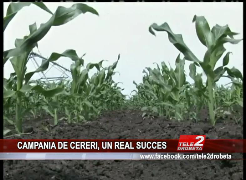 CAMPANIA DE CERERI, UN REAL SUCCES