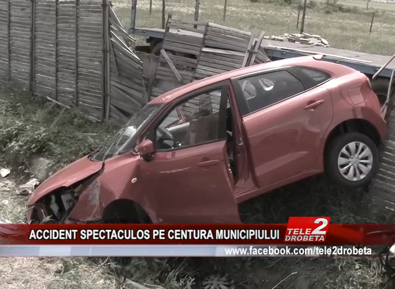 ACCIDENT SPECTACULOS PE CENTURA MUNICIPIULUI