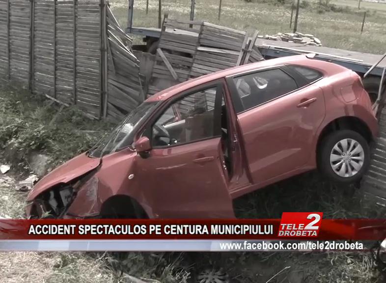 ACCIDENT SPECTACULOS PE CENTURA MUNICIPIULUI