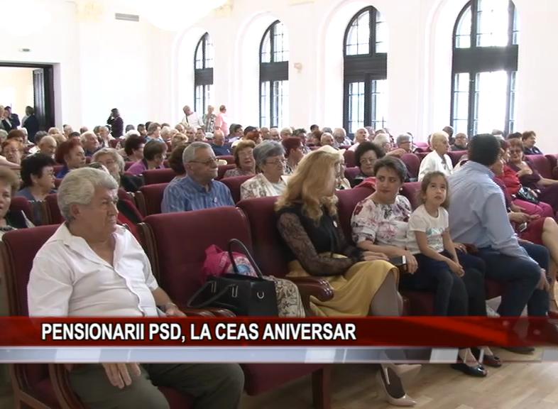 PENSIONARII PSD, LA CEAS ANIVERSAR
