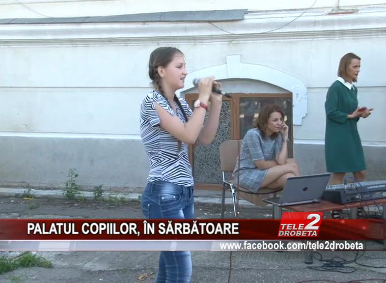 PALATUL COPIILOR, ÎN SĂRBĂTOARE