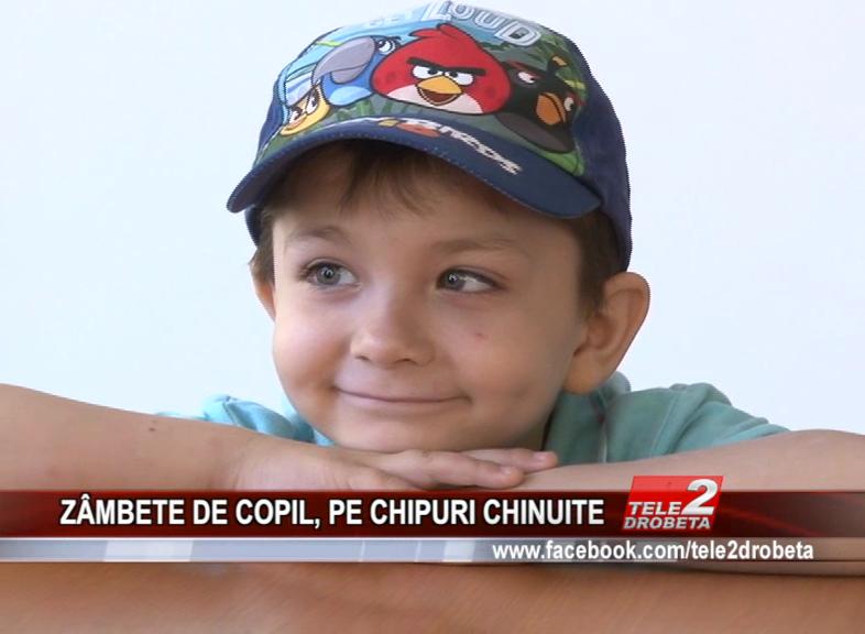 ZÂMBETE DE COPIL, PE CHIPURI CHINUITE