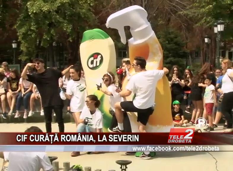 CIF CURĂȚĂ ROMÂNIA, LA SEVERIN
