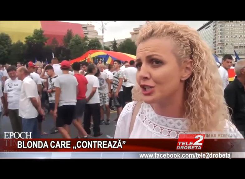 """BLONDA CARE """"CONTREAZĂ"""""""