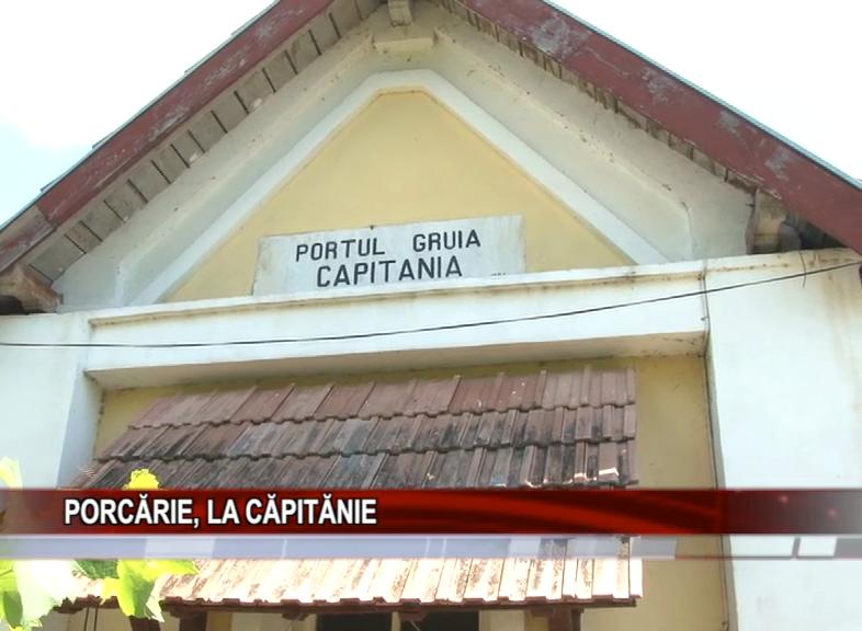 PORCĂRIE, LA CAPITĂNIE