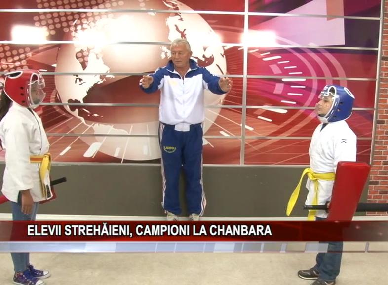 ELEVII STREHĂIENI, CAMPIONI LA CHANBARA