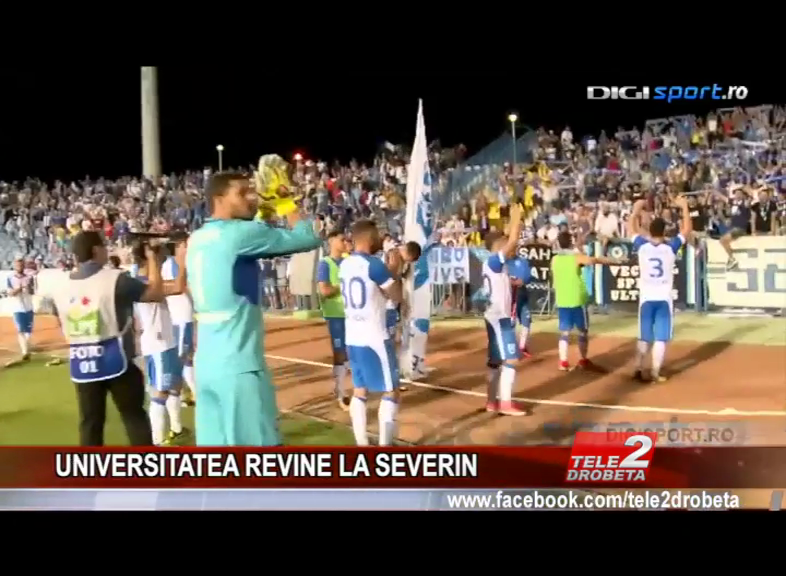 UNIVERSITATEA REVINE LA SEVERIN