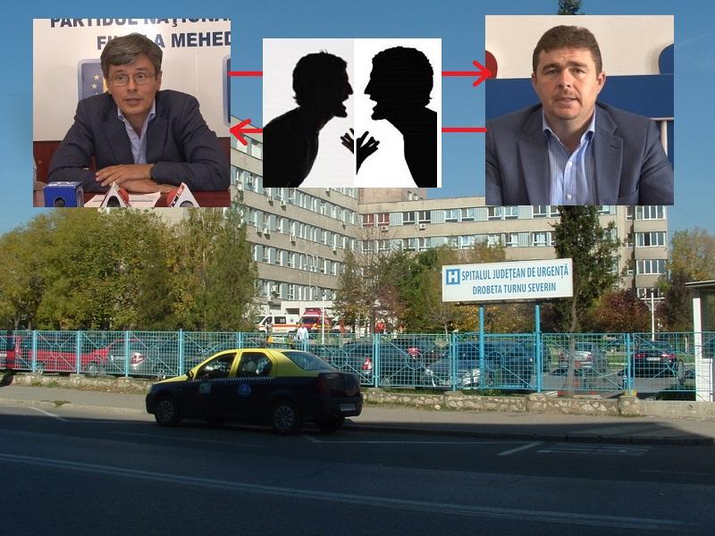 SPITALUL JUDEȚEAN ÎNCAIERĂ POLITICIENII