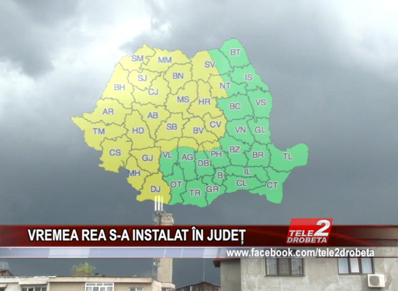 VREMEA REA S-A INSTALAT ÎN JUDEȚ