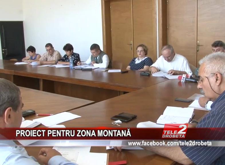 PROIECT PENTRU ZONA MONTANĂ