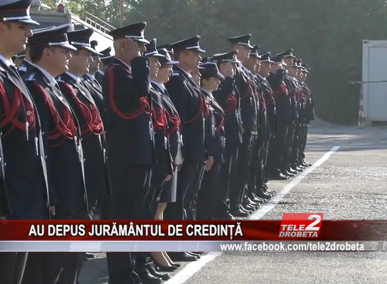 AU DEPUS JURĂMÂNTUL DE CREDINȚĂ