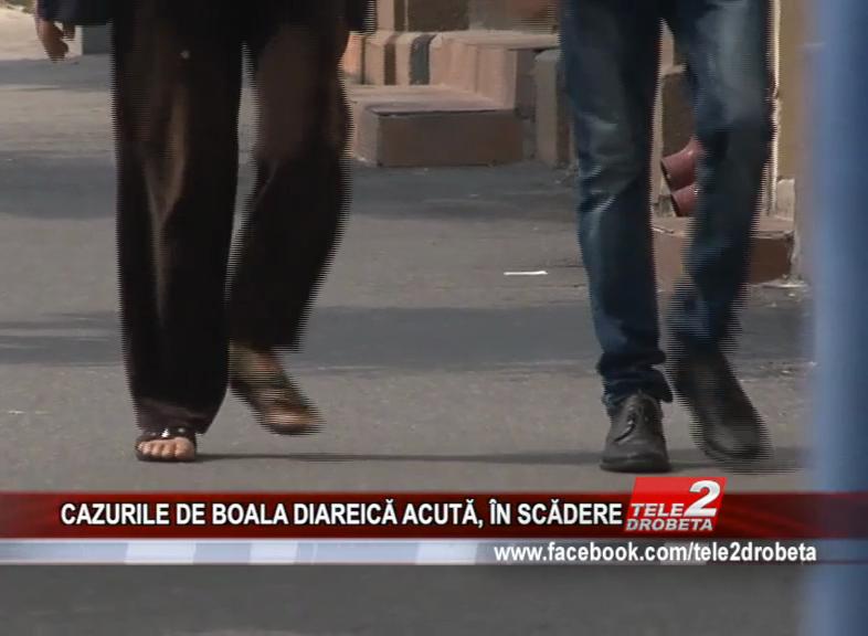 CAZURILE DE BOALA DIAREICĂ ACUTĂ, ÎN SCĂDERE