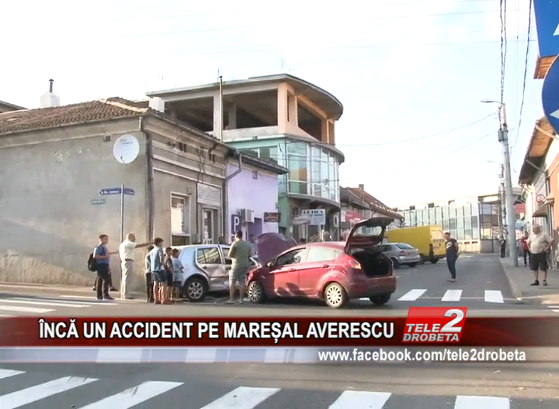 ÎNCĂ UN ACCIDENT PE MAREȘAL AVERESCU
