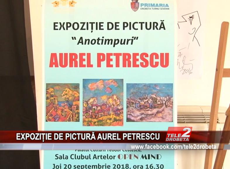 EXPOZIȚIE DE PICTURĂ AUREL PETRESCU