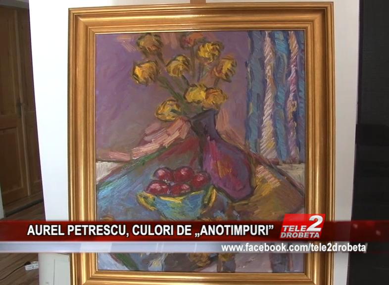 """AUREL PETRESCU, CULORI DE """"ANOTIMPURI"""""""