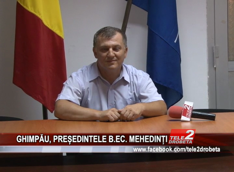 GHIMPĂU, PREȘEDINTELE B.EC. MEHEDINȚI