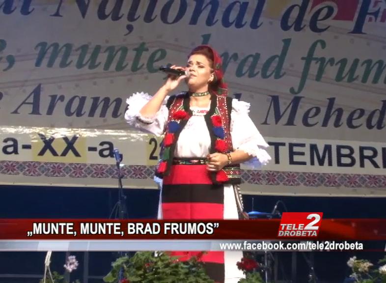 """MUNTE, MUNTE, BRAD FRUMOS"""