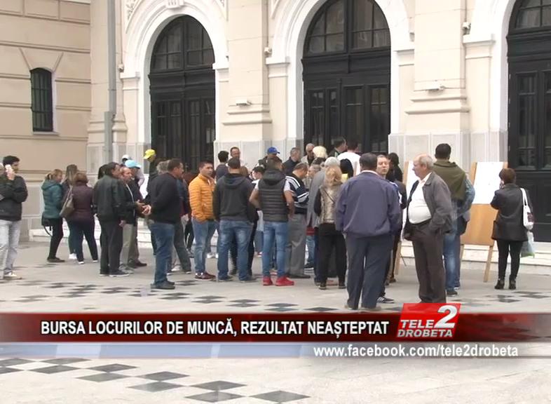 BURSA LOCURILOR DE MUNCĂ, REZULTAT NEAȘTEPTAT