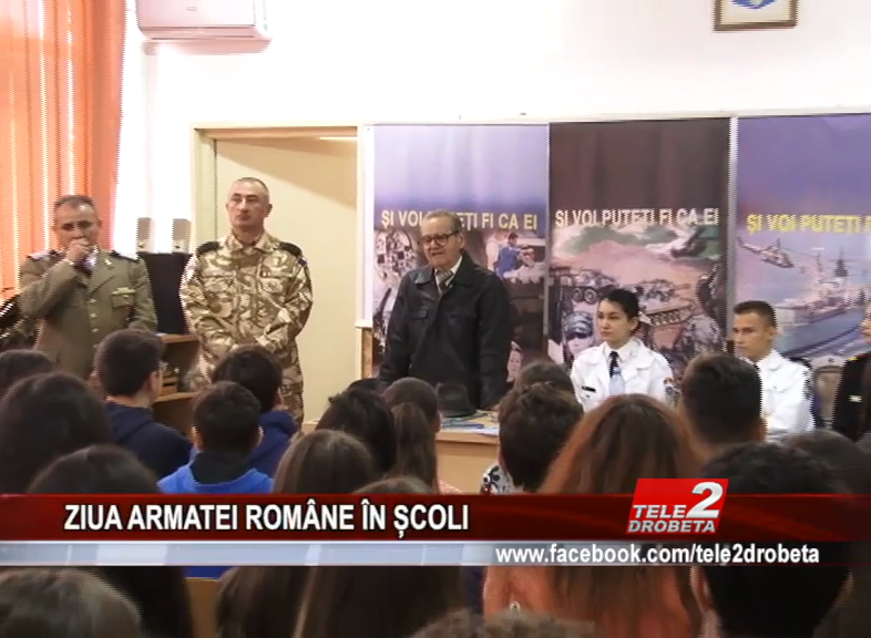 ZIUA ARMATEI ROMÂNE ÎN ȘCOLI