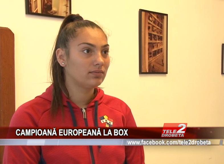 CAMPIOANĂ EUROPEANĂ LA BOX