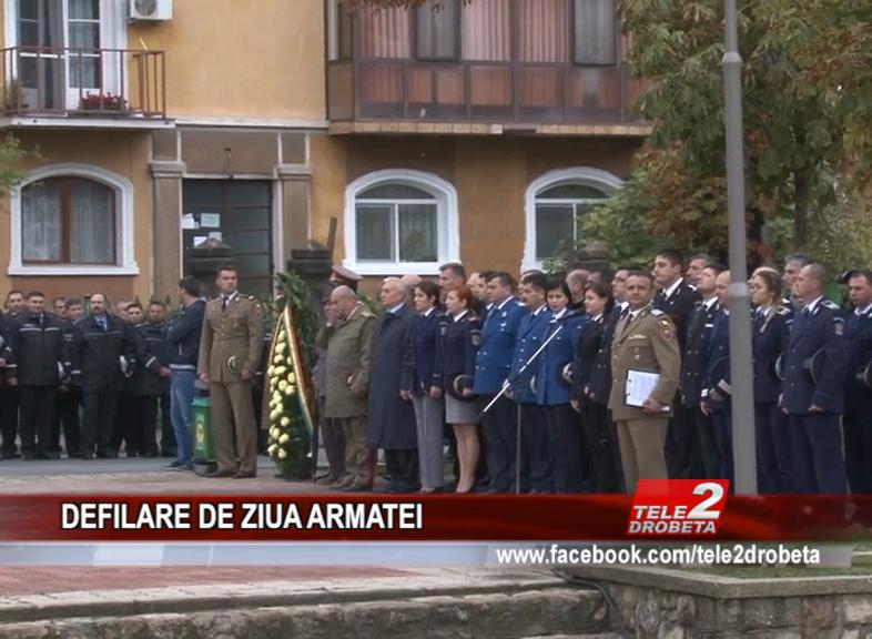 DEFILARE DE ZIUA ARMATEI