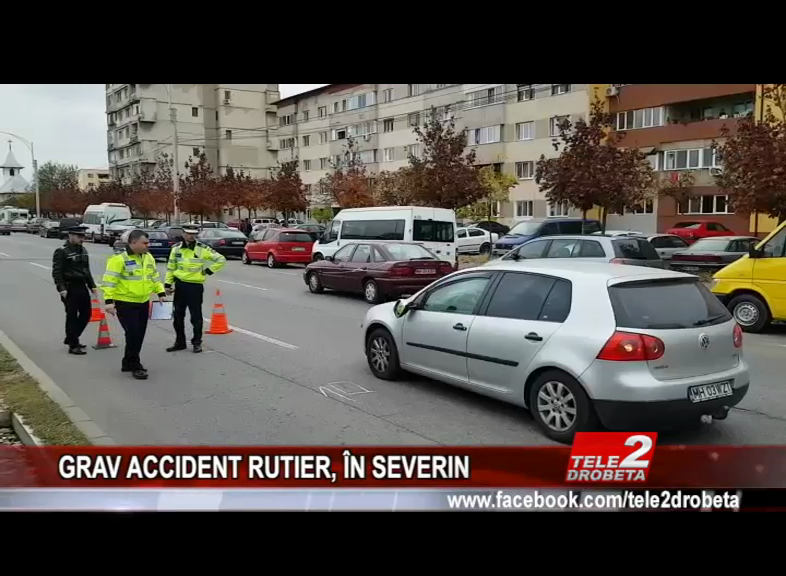 GRAV ACCIDENT RUTIER, ÎN SEVERIN