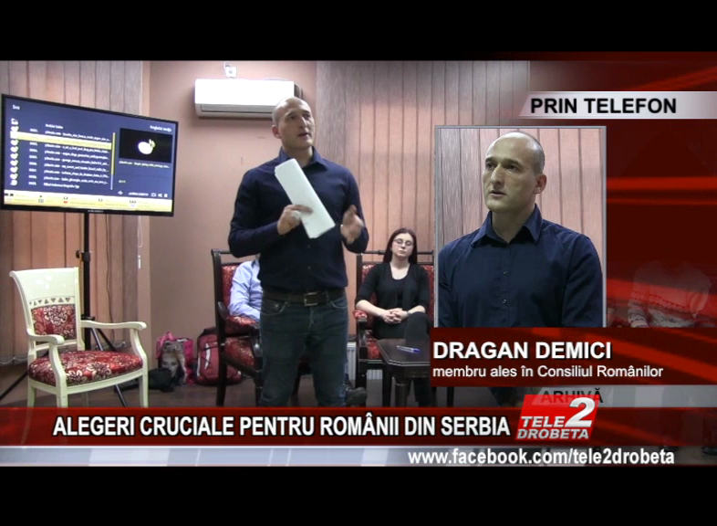 ALEGERI CRUCIALE PENTRU ROMÂNII DIN SERBIA
