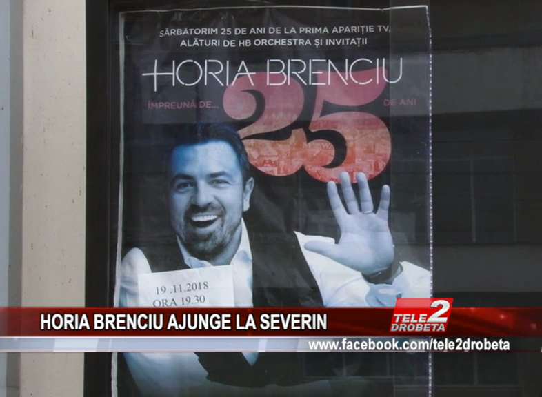 HORIA BRENCIU AJUNGE LA SEVERIN