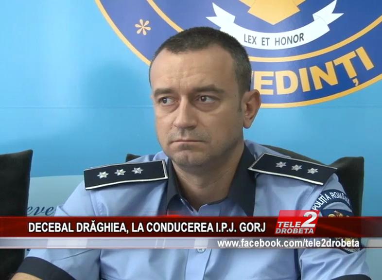 DECEBAL DRĂGHIEA, LA CONDUCEREA I.P.J. GORJ