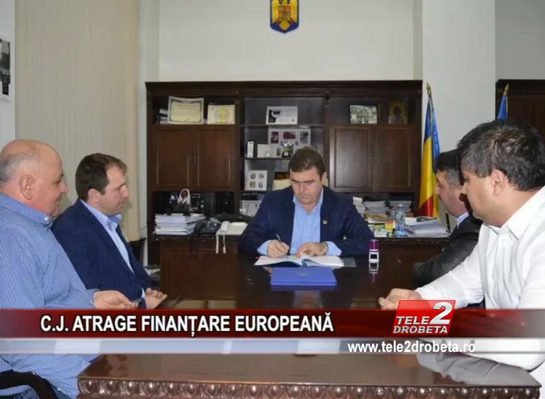 C.J. ATRAGE FINANȚARE EUROPEANĂ