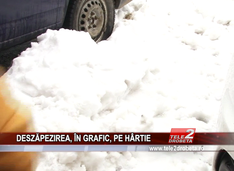 DESZĂPEZIREA, ÎN GRAFIC, PE HÂRTIE