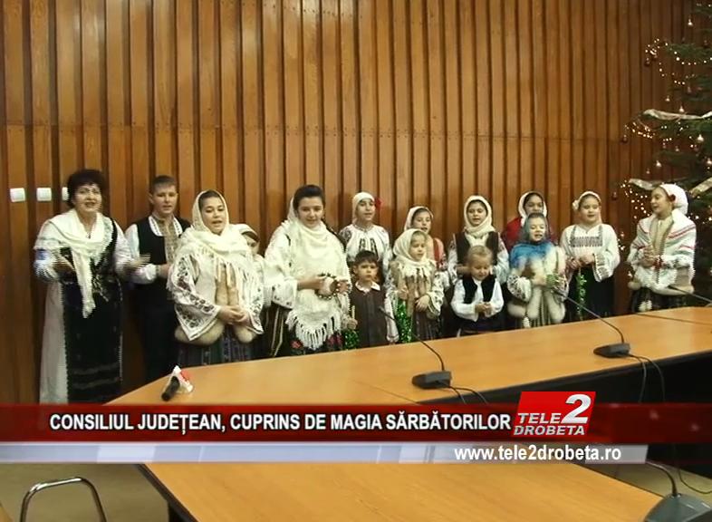 CONSILIUL JUDEȚEAN, CUPRINS DE MAGIA SĂRBĂTORILOR