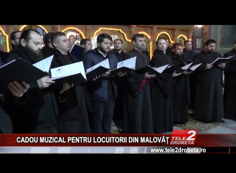 CADOU MUZICAL PENTRU LOCUITORII DIN MALOVĂȚ