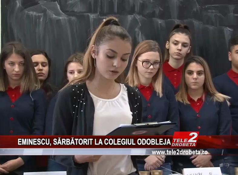 EMINESCU, SĂRBĂTORI LA COLEGIUL ODOBLEJA