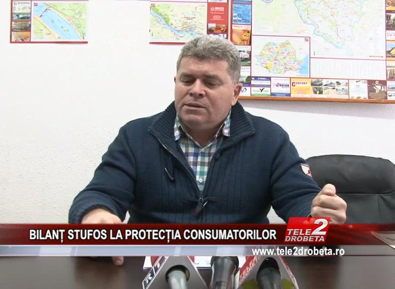 BILANȚ STUFOS LA PROTECȚIA CONSUMATORILOR