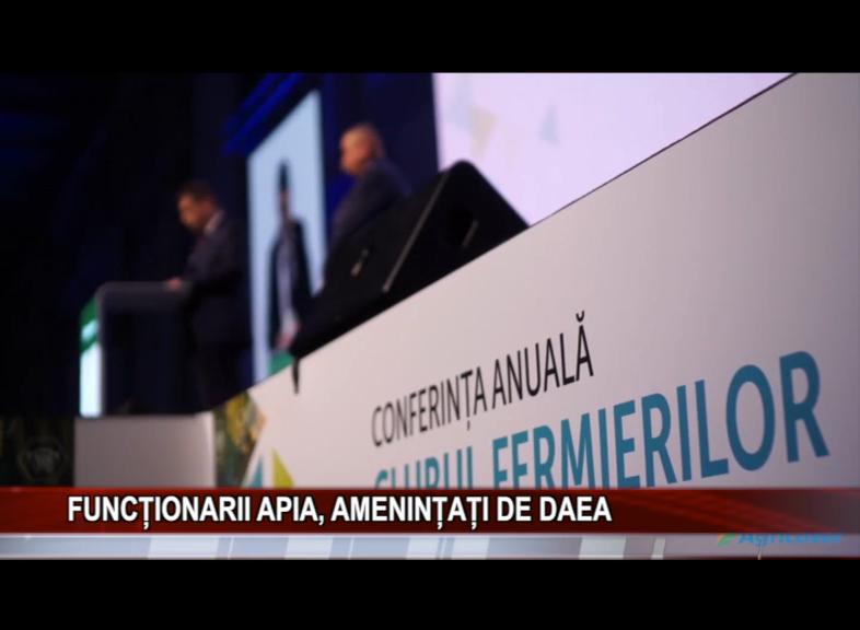FUNCȚIONARII APIA, AMENINȚAȚI DE DAEA