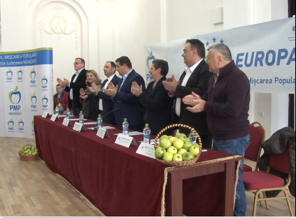 PMP SE PREGĂTEȘTE DE ALEGERI LE EUROPARLAMENTARE
