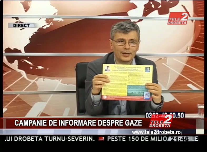 CAMPANIE DE INFORMARE DESPRE GAZE