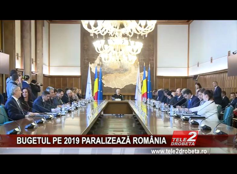 BUGETUL PE 2019 PARALIZEAZĂ ROMÂNIA