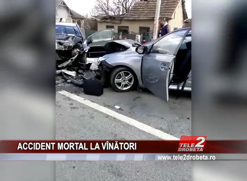 ACCIDENT MORTAL LA VÎNĂTORI
