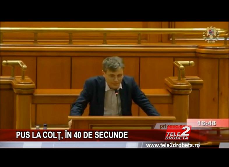 PUS LA COLȚ, ÎN 40 DE SECUNDE